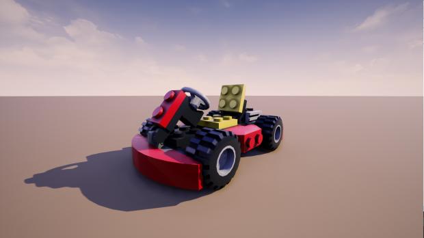 Set 7601 Go Kart