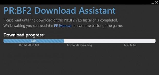 PRBF2 Download Assistant