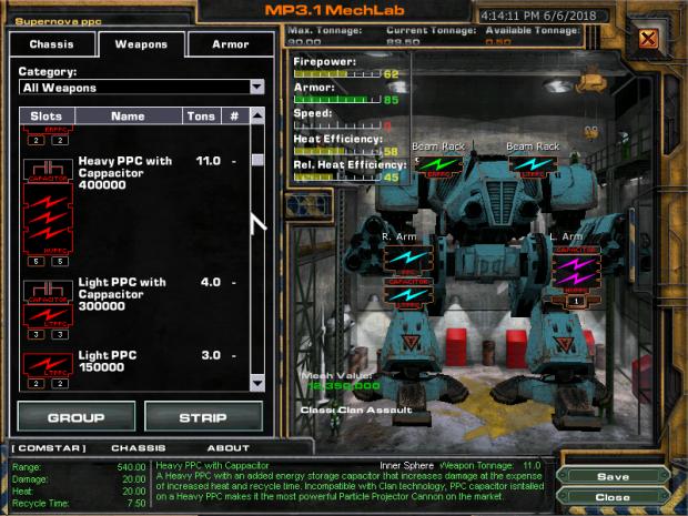 MW4M Weapon Mod Version 3