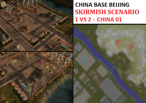 "CHINA Beijing Skirmish - ""Mission CHINA01"" - 1vs2"