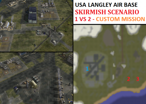 USA Langley Air Force Base Skirmish - 1vs2