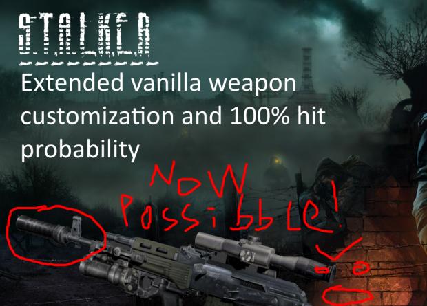 Vanilla weapon rebalance and small fixes addon