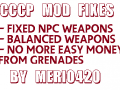 CCCP Gunplay & Weapon economy adjustments