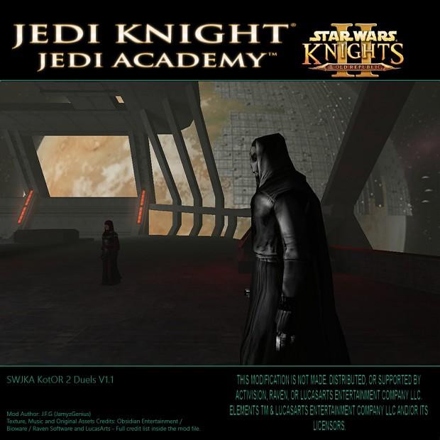 SW Jedi Knight Jedi Academy - KotOR 2 Duels V1.1