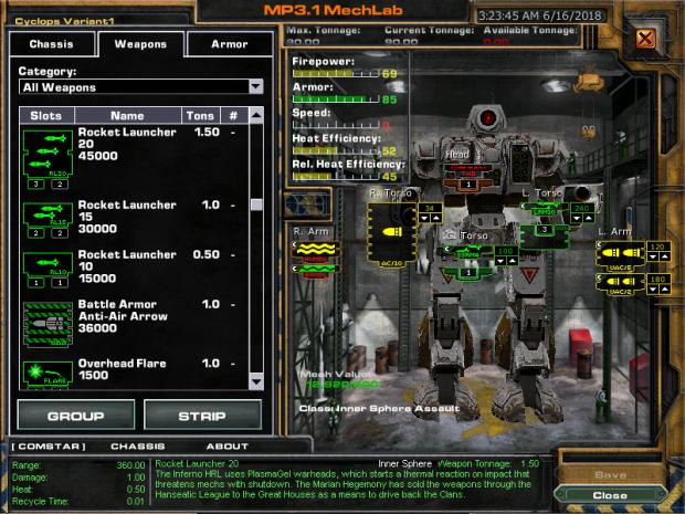 MW4M Weapon Mod Version 4