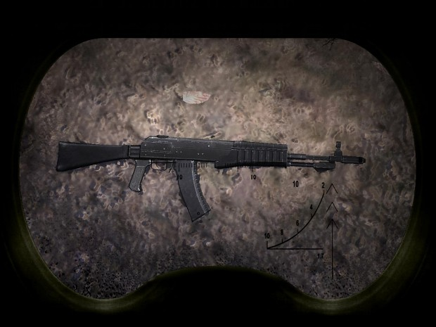 High resolution weapons for S.T.A.L.K.E.R SoC v1.2