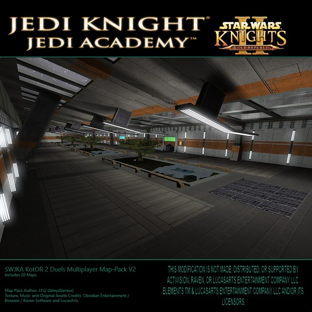 SWJKA KotOR 2 Duels Multiplayer Map Pack V2