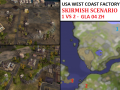 "USA W-C Facility Skirmish - ""Mission GLA04"" - 1vs2"