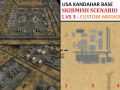 USA Kandahar Base Skirmish - 1vs3