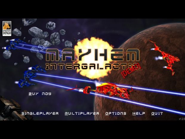 Mayhem Intergalactic v1.2 Demo