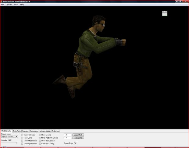 Jed's Half-Life Model Viewer 1.36
