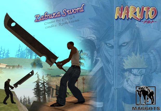 Zabuza sword MOD for GTA SA