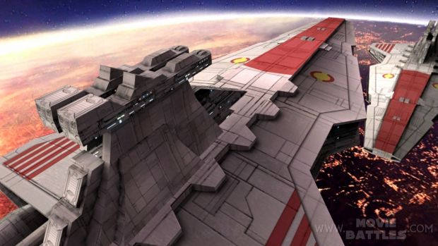 Movie Battles II - Battle Over Coruscant Preview
