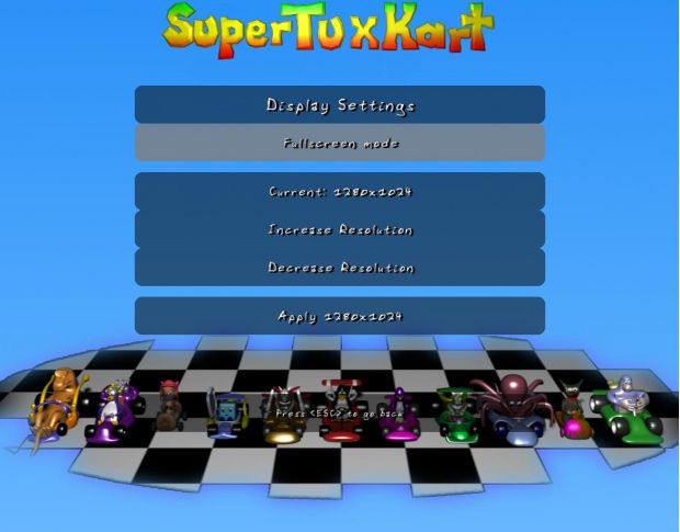 Super Tuxkart 0.5 for Windows