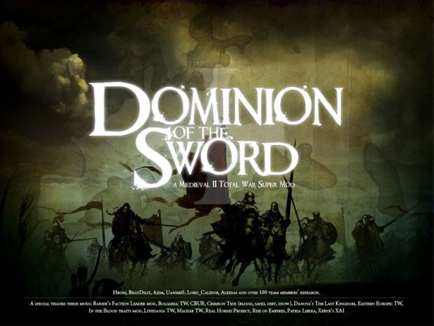 Dominion of the Sword 1st Preview