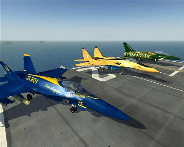 Airshow map and skins