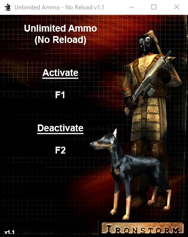Unlimited Ammo - No Reload v1.1 (Campaign Trainer)