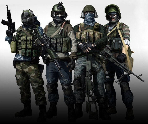 BF3 Russian Soldiers