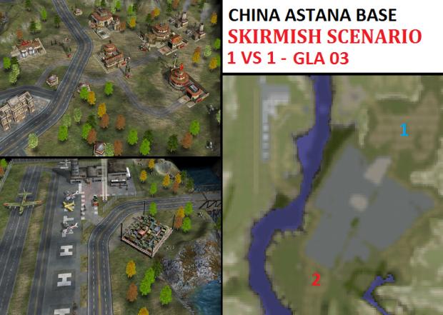 "CHINA Astana Skirmish - ""Mission GLA03"" - 1vs1"
