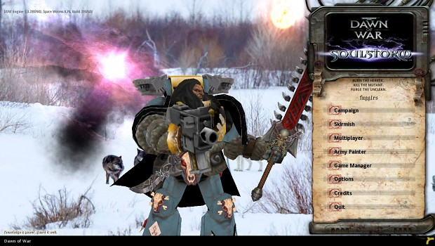 Space Wolves 0.76 Beta for Soulstorm