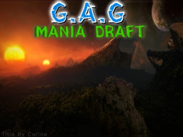 Starcraft: GAG Mania Draft v2.7.4