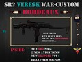 SR 2 Veresk WAR-custom - Bordeaux
