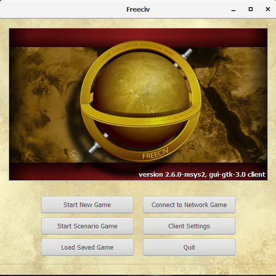 FreeCiv 2.6.0 + source