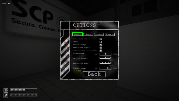 [1.3.10] SCP - CB Field Of View (FOV) Mod v2.0