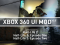Xbox 360 UI Mod v2.5 for Half-Life 2 with both Episodes