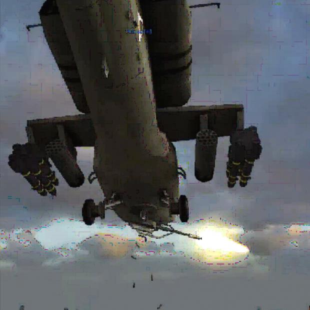 AH 64 Apache cannon sound