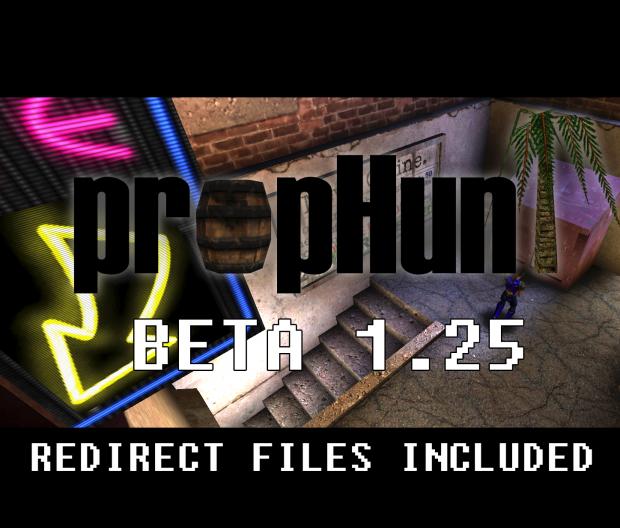 Prop Hunt beta 1.25   *LATEST*