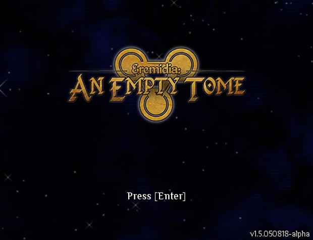 An Empty Tome demo