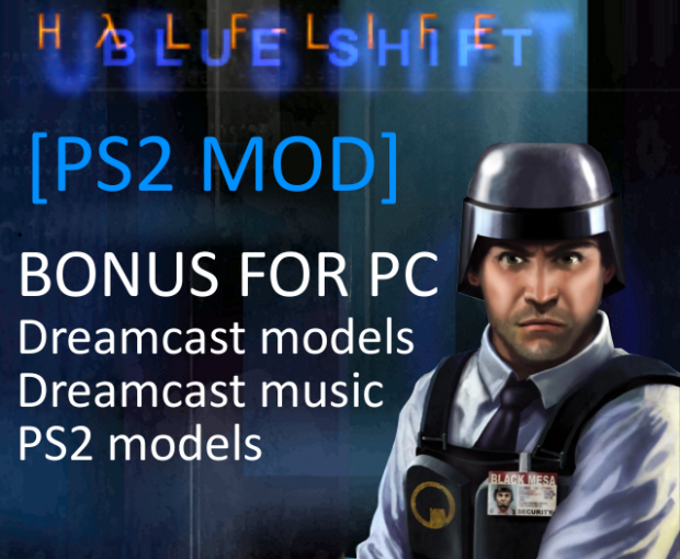 [For PC] PS2 Blue Shift bonus pack