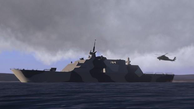 Littoral Combat Ship ( LCS-1 )
