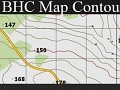BHC map contour