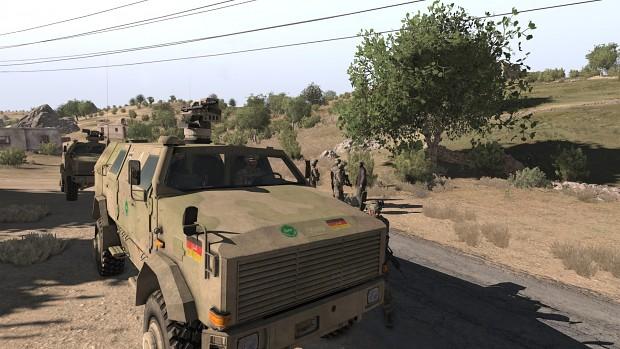 Bundeswehr Dingo Reskin for ACR_A3 Dingo