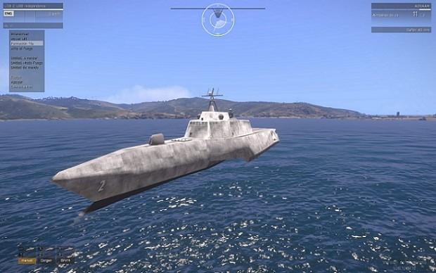 Big PHYSx compatible ship