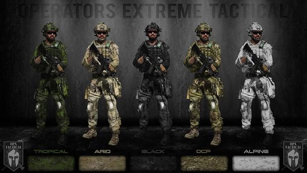 OPerators eXtreme Tactical Addons