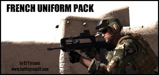BG21 French Uniform Pack