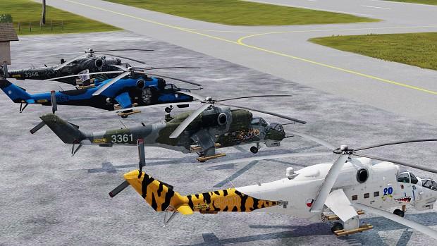 Qinetix Czech Air Force Hind Tigers