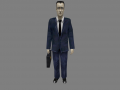 PS2 G-man Model for Half Life: Echoes