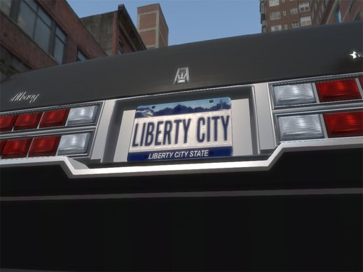 HD LC License Plates
