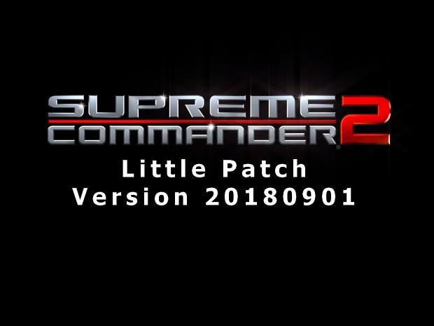 Supreme Commander 2 LittlePatch 20180901