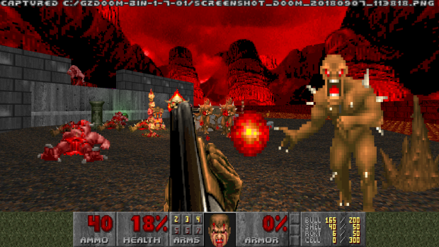 Super Shotgun in The Ultimate Doom