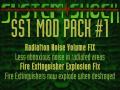 SS1MOD Radiation Area Noise Volume Fix