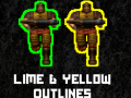 QC:DE Lime & Yellow Outlines Addon 2.5