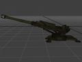 Artillery Fieldcannon Vanilla BF2