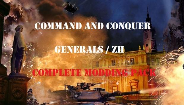 CnC Generals Complete Modding Pack