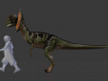 Big Dilophosaurus Addon