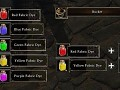 Craftable armor dyes and dyeable helmets Mod